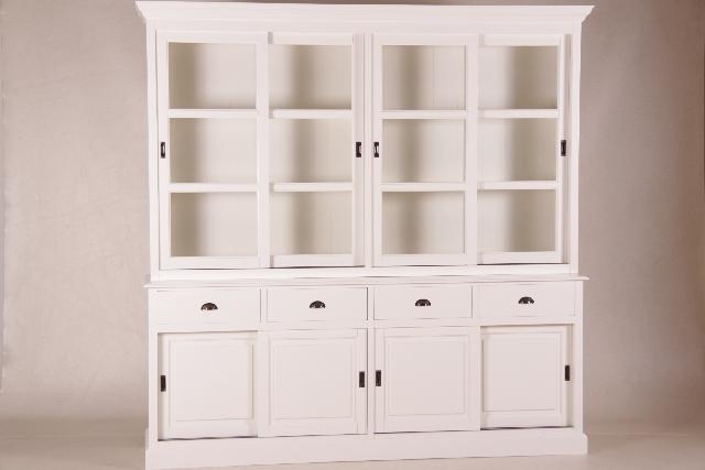 gro er schrank holzschrank mit viel stauraum wei. Black Bedroom Furniture Sets. Home Design Ideas