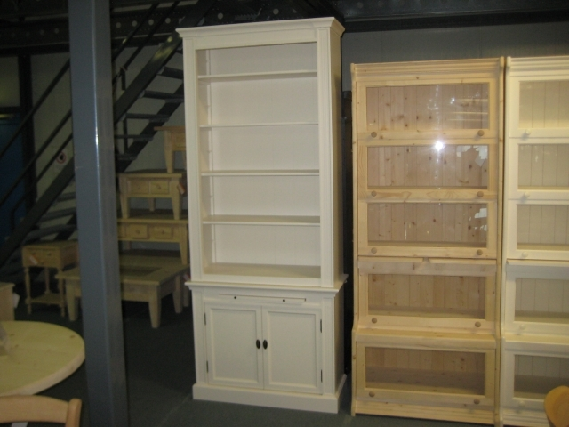 schmales b cherregal versch ausf. Black Bedroom Furniture Sets. Home Design Ideas