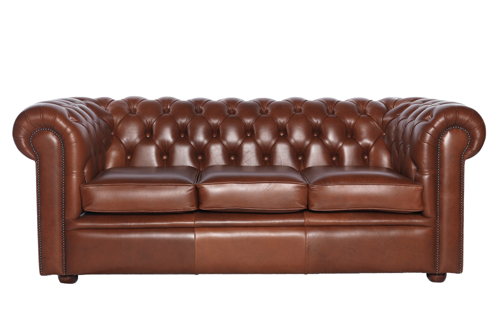 """""""William"""" Chesterfield 3-Seater"""