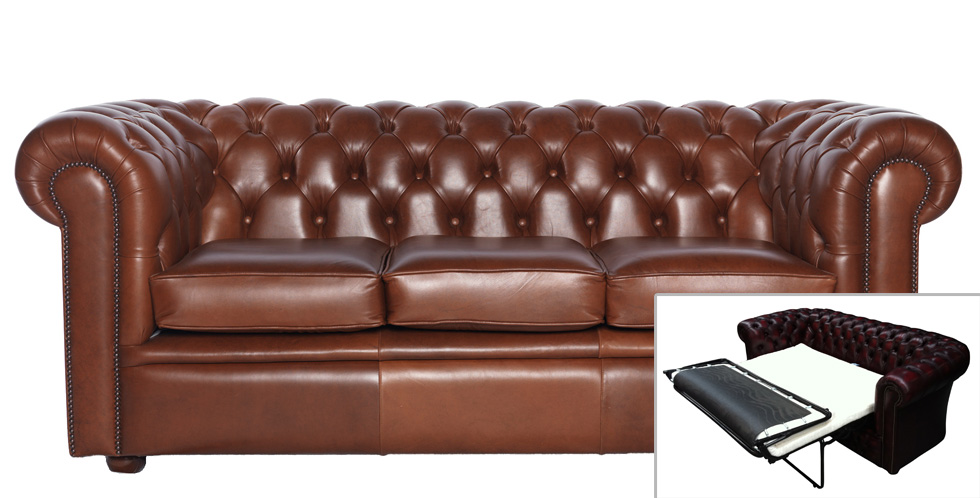 chesterfield schlafsofa william 3 sitzer. Black Bedroom Furniture Sets. Home Design Ideas
