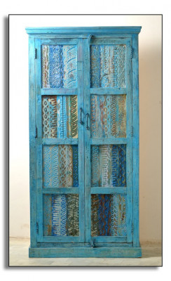 "Schrank  ""Blue""  ca. 80 x 45 x 180 cm"