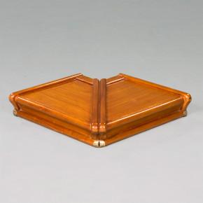 Globe Wernicke - Half Size External Corner Filebinder Top Right