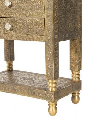 "Telefontisch ""Brass""  ca. 60 x 32 x 79 cm"