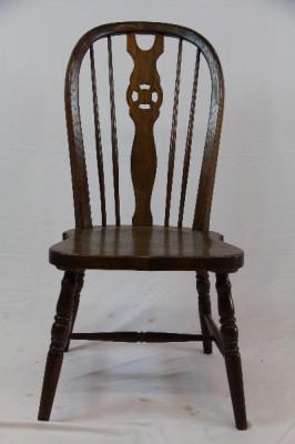 4er Satz Windsor Chairs  Massivholz