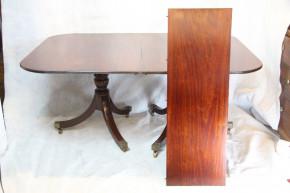 Mahagoni Esstisch Dining Table  D-Endtable  74x112x164-184cm