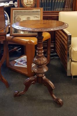 """""""Inlaid Round Table Arie"""" - Kleiner Tisch Sofort Lieferbar"""