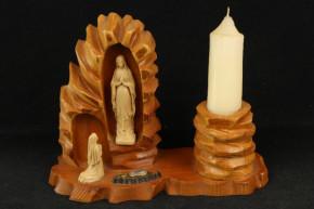 Kerzenhalter Mutter Maria (Holz)