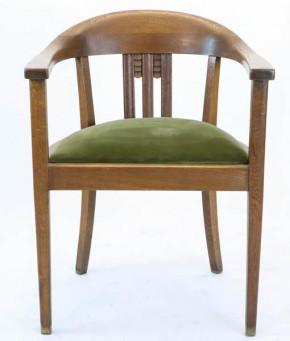 Club Chair, Art déco Stil, Eiche 1920