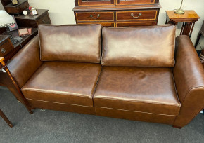 """""""Paris"""" Schlafsofa  3-Seater Sofabed 190cm in Antique Gold Sofort Lieferbar"""