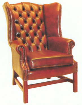 Chesterfield Sessel - Churchill wing chair