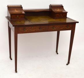 Edwardian Bonheur Du Jour Tisch antik