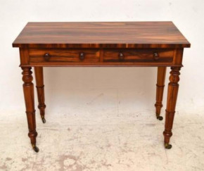 Antique William 1V Rosewood Writing Table
