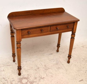 Antique Victorian Mahogany Writing / Side Table