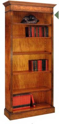Gothic Bookcase Bücherschrank groß mit 5 Regalböden