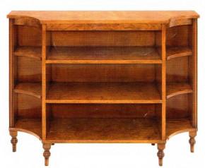 Curved Open Bookcase Bücherschrank