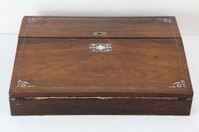 Reiseschreibtisch Antiker Laptop Original aus dem 19 JH
