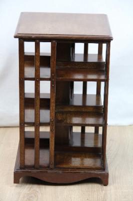 kleines Bookcase Bücherschrank Revolwing Bookcase   England 1890