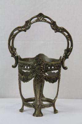 Metallhalter Bronze aus dem 19 JH