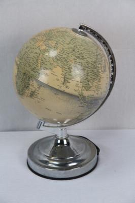 Globus mit Licht  Vintage 165