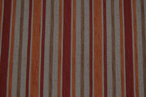 Stoff Stripe - Red