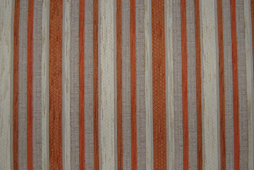 Stoff Stripe - Terracotta