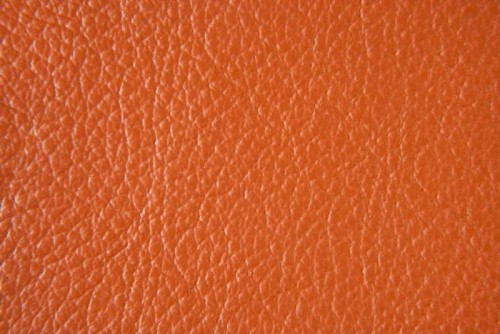 Leder Birch - Burnt Orange